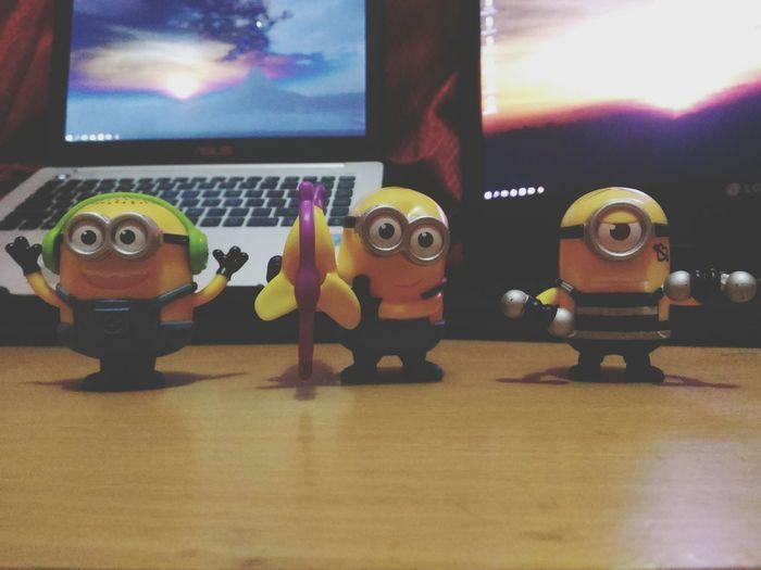 Gang of minions Minions Despicableme Despicable Me 2 Despicable Me 3