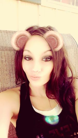 been through more things most ppl couldnt handle Tattooedwomen Badassmom Brown Eyed Girl Confidence! Snapchat Young Women Beautiful Woman Females Long Hair