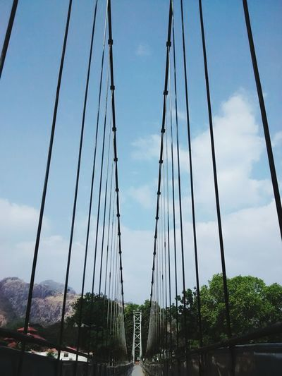 leap to the mountains Vanishing Point Suspension Bridge Kerala
