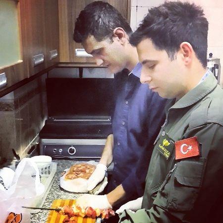 Mangal hazirligi Tunceli Havameydan Barbecue Party mangal uniform bief sis hazirlik social ff instagood ff good meal cook miss sisdizme smell nefis ?????????