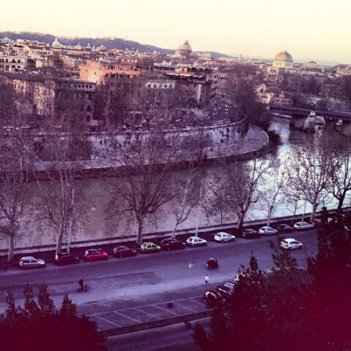 Rome The Tiber Winter Wonderland