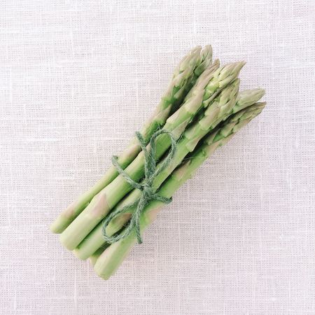 Bundle of Asparagus Asparagus Bunch Tied String Bundle Healthy Eating Healthy Diet Green Vegetable Healthy