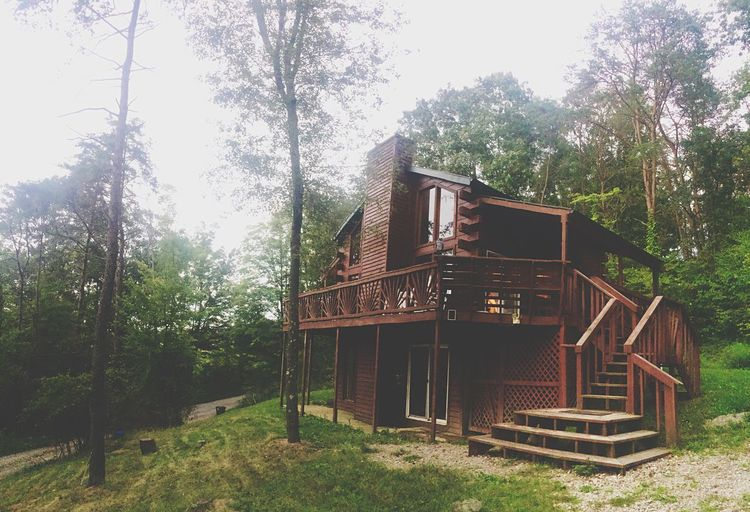 Hockinghills Cabin Fall