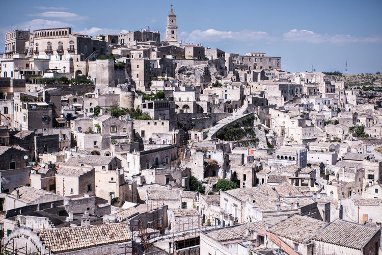 European Capital of Culture 2019 Building Exterior Architecture Built Structure Residential District Cityscape City Building Community Town Sky Day Travel Destinations Outdoors High Angle View The Past History TOWNSCAPE Settlement Culture Italy