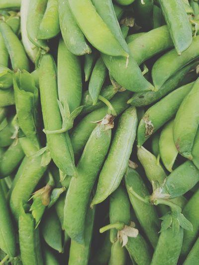 Full frame shot of green vegetables in market