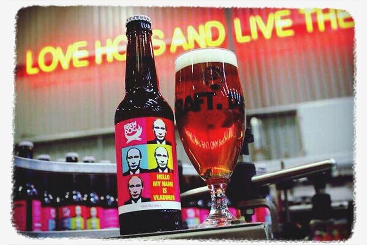 Drinks Beer Putin Message In A Bottle