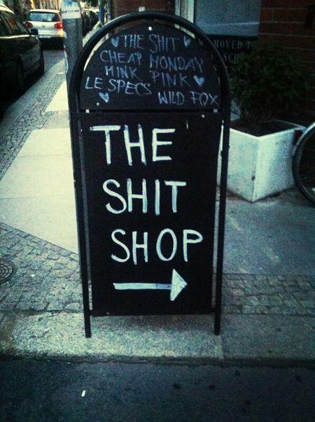 Shop Signs Crazyshit