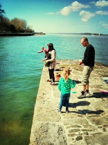 Crabbing at The Castle Quality Time xx