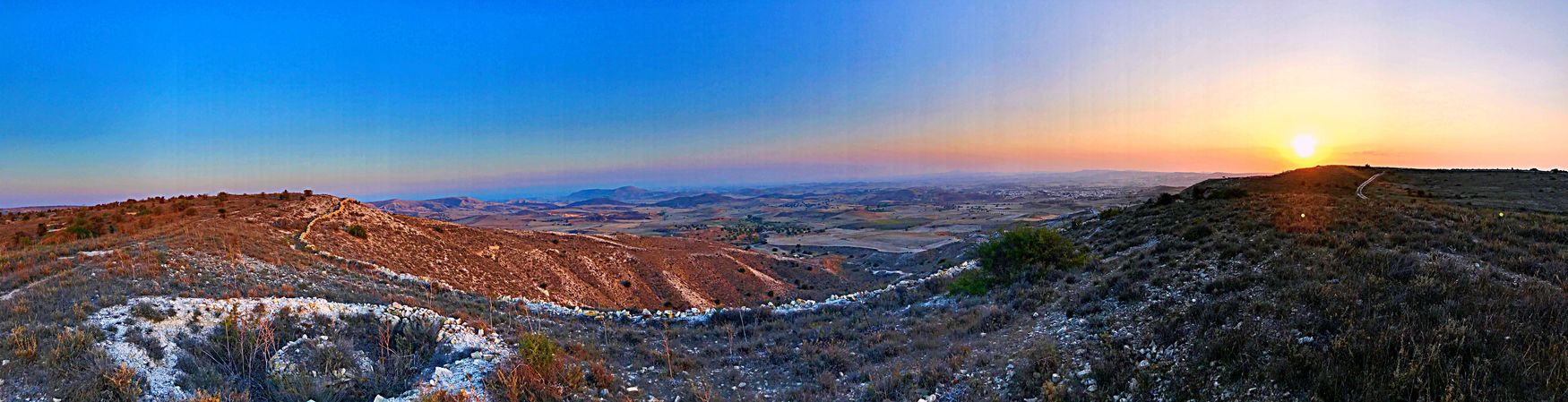 Mobile Photography IPhoneography Mobilephotography Sunset Scenics Nature Beauty In Nature Mountain Tranquility Tranquil Scene Sky No People Mountain Range Landscape Outdoors Day Shot On IPhone 7 Plus The Week On EyeEm Clear Sky Cyprus Larnaca Larnaca, Cyprus Forbidden Area Smartphonephotography