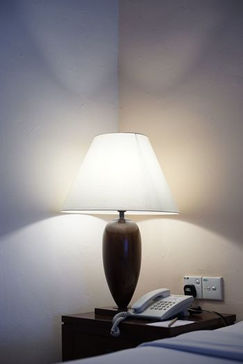 Indoors  Table Lighting Equipment Electricity  No People Lamp Shade  Home Interior Illuminated Close-up