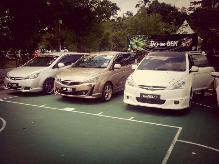 Sarawak Exorian Crew at Merdeka Auto Carnival 2013 Sec Mac13 Kuching Lepark