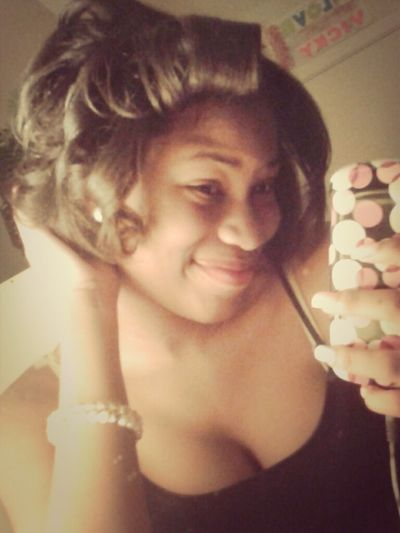 Had To Curl It B4 Bed Goodnight !