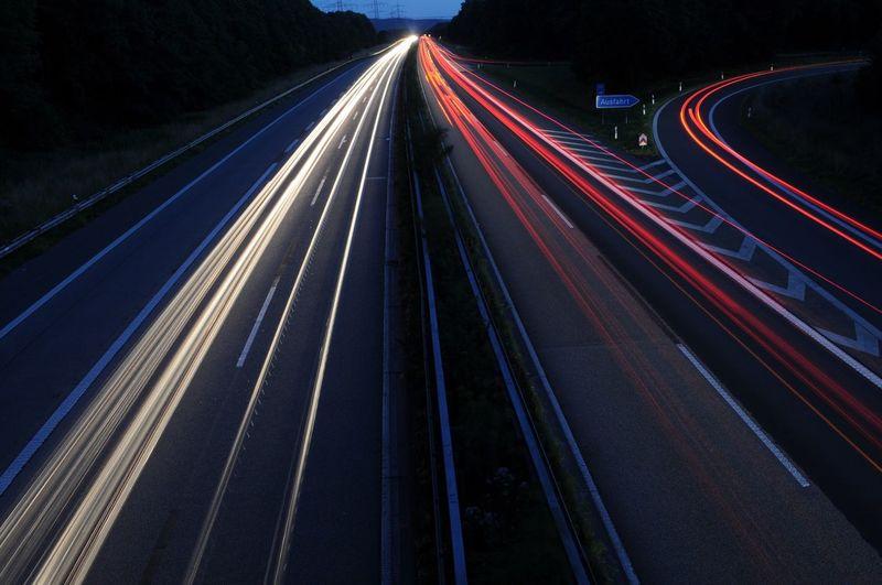 Autobahn Abfahrt A43 - Witten Heven Speed