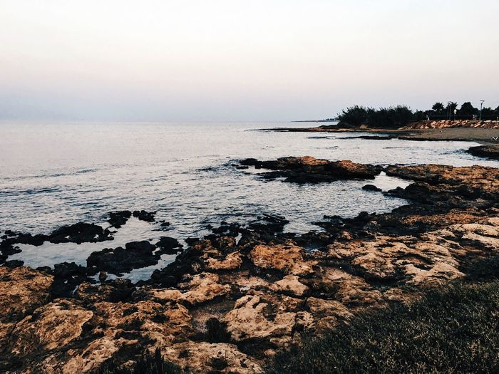 Cyprus🏖 Nature Sea Water Sky Beauty In Nature Scenics No People Tranquility Tranquil Scene Rock - Object Outdoors Horizon Over Water Day Beach Vershmichael Photo Photography Photographer Cloud - Sky VSCO VSCO Cam
