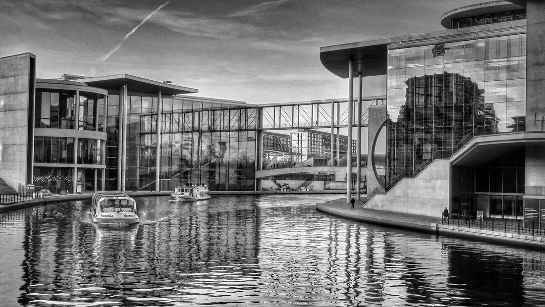 EyeEm Best Shots - Black + White Berlin Monochrome Water Reflections
