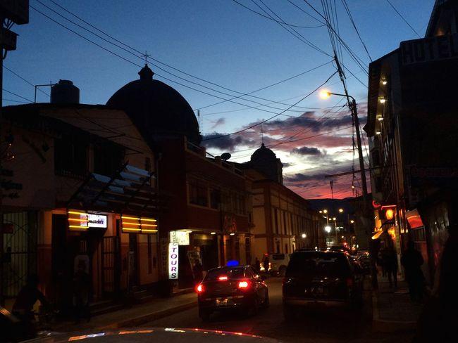 City Outdoors Lovely City Photography IPhone5 Sunset Night Peru Trip Huancayo Magic Place Photos Sky Purple Sky EyeEm