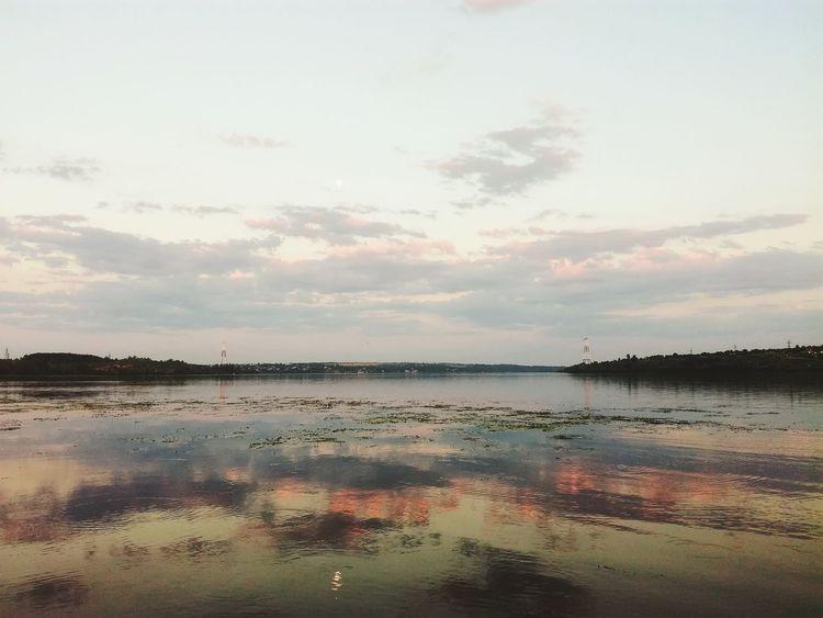 река речка Природа Погода