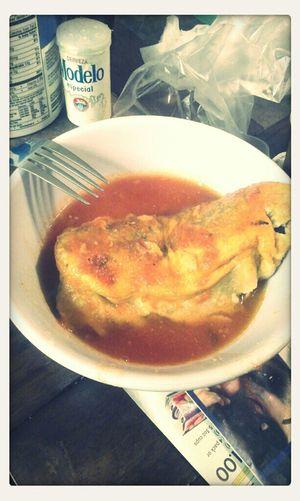 Mexican Food Foodporn Chile Relleno