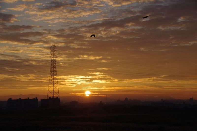 Sunrise Sky 淀川