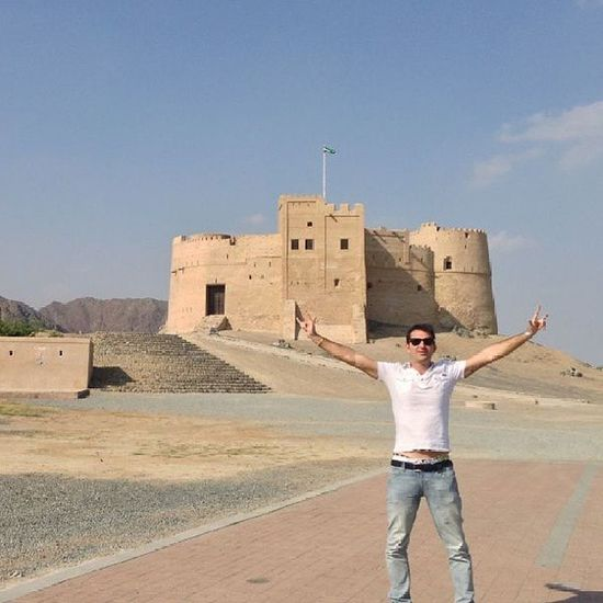 Fujairah Emirates Gulf UAE Arab Arabic Travel Trip Bestplace Bestoftheday OneLove ILoveUAE Iloveit Amazing Castle Instauae Instacity Instafujairah Landscape Me Love Sky Place Tourism History uaetour