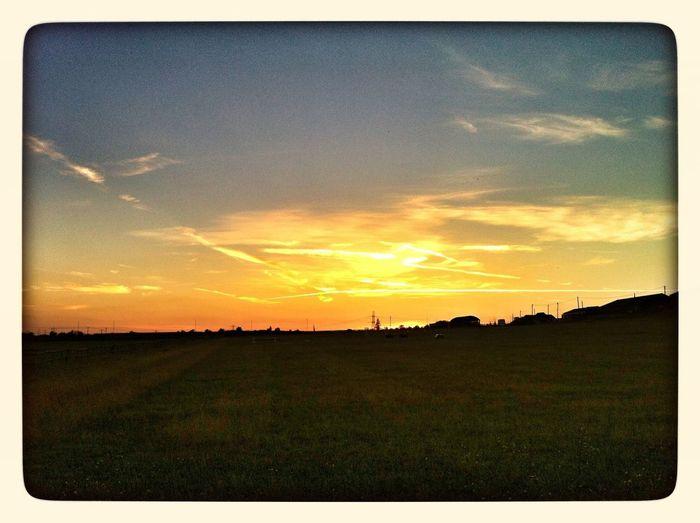 September Sunset UK Sunset