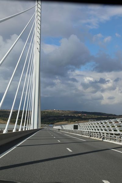 Road Viaduc De Millau Bridge - Man Made Structure