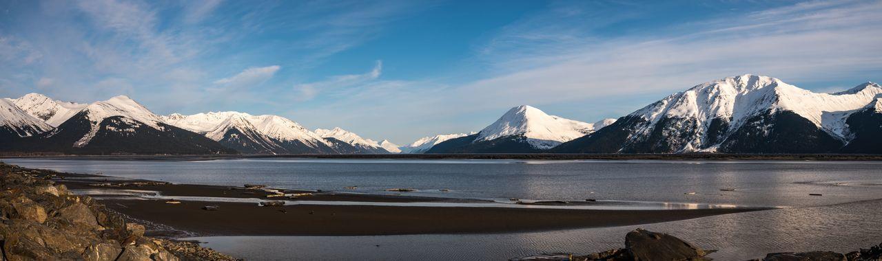 Mountain Alaska Snow