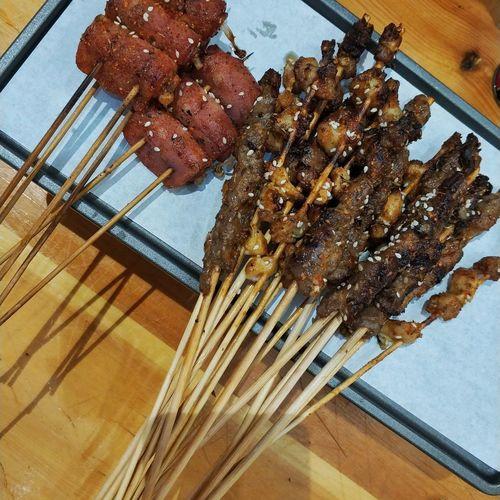 美食 串串 烤串