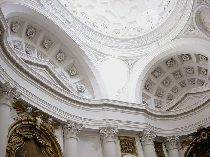 Il genio assoluto di francesco borrominiArchitectureporn Architecturelovers Architecture Architecturephotography Architecture_collection Borromini Francescoborromini Sancarlino