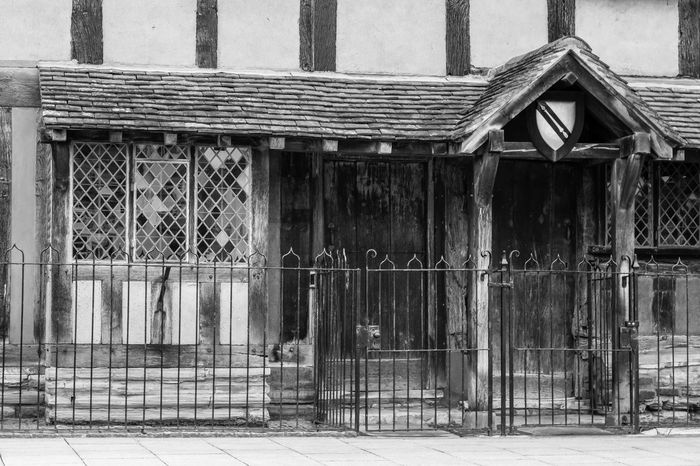 Architecture Broken Building Close Up Damaged Day Deterioration Gate Geometry Historic History Important Metal No People Old Old England Shakespeare Shakespeares House Stratford Stratford Upon Avon Symmetry Wall