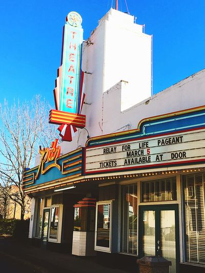 Old Theater In Greenville Thought It Was Pretty Cool Still Active 😃