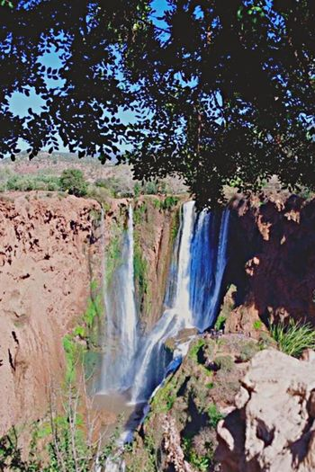 Ouzoud Falls Waterfall Water Forest Nature Beauty In Nature Colour Of Life MoroccoTrip Morocco_travel Colors Of Morocco Travel Love Travel Photography