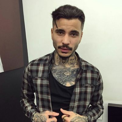 Model Gorgeous Aesthetics Street Fashion Urban Fashion Fashion&style Streetstyle Urbanstyle Fashion Frenchboy Tattoos Guyswithtattoos Attractiveguy Attractive Malemodel  Male Model Hairstyle