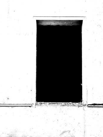Lost window Window Blackandwhite Abstract Black Color Backgrounds No People