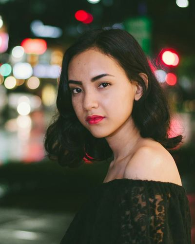 """Nuartapp Staedler Fashion Hair Fashion&love&beauty Bokeh Photography Bokeh Rule Of Thirds Portait CIV155 CIV155PXso as we did this photography I remember an american movie entitled """"Orphan"""""""
