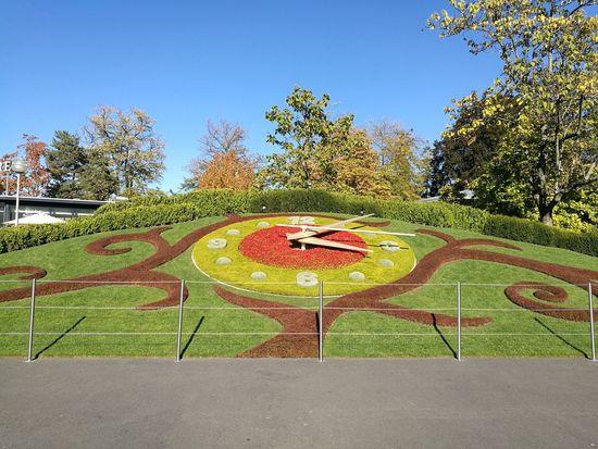 Genève 🇨🇭 Nature Clock