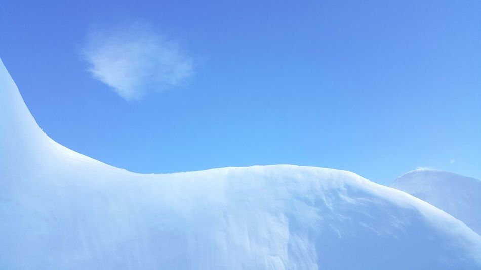 Blue Snow Sky Winter Beauty In Nature Day Outdoors No People Landscape Icehouse ArtWork in Austria