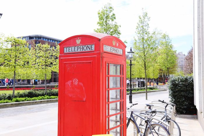 London Red Phone Boxes Tourism Classic History Red Urban Lifestyle Postcode Postcards