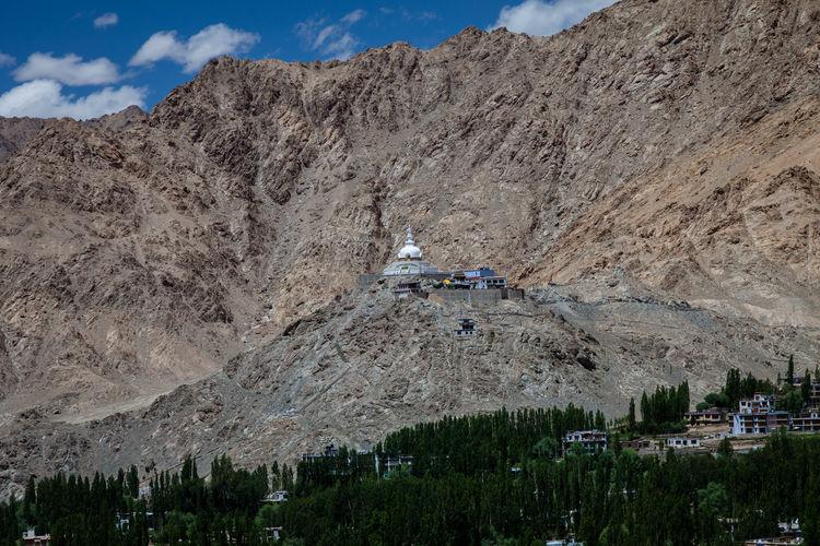 Shanti Stupa, a
