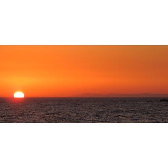 Sanclemente Mesmerizing Setting Sun Catalina Background Sunset Sunsetporn Pacific Ocean Day Is Done Serene Outdoors Scenery Shots Horizon Southern California California Dreaming