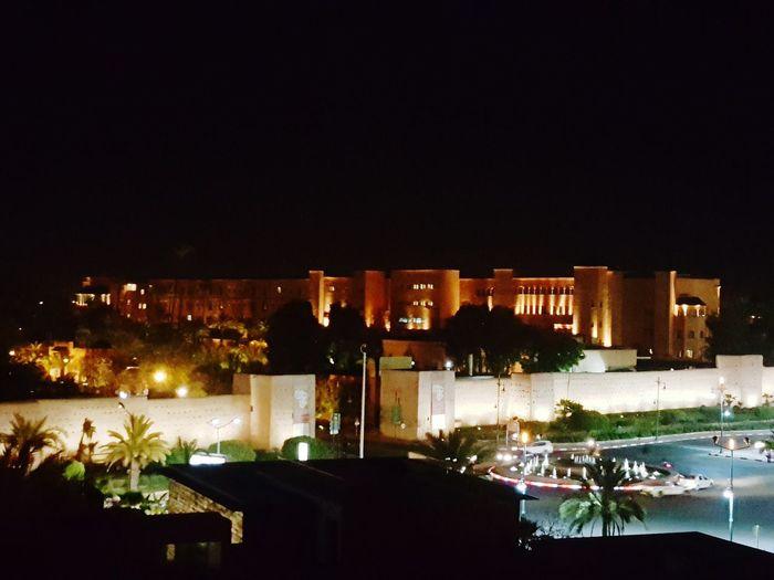 Palace Night Time Sky Bar