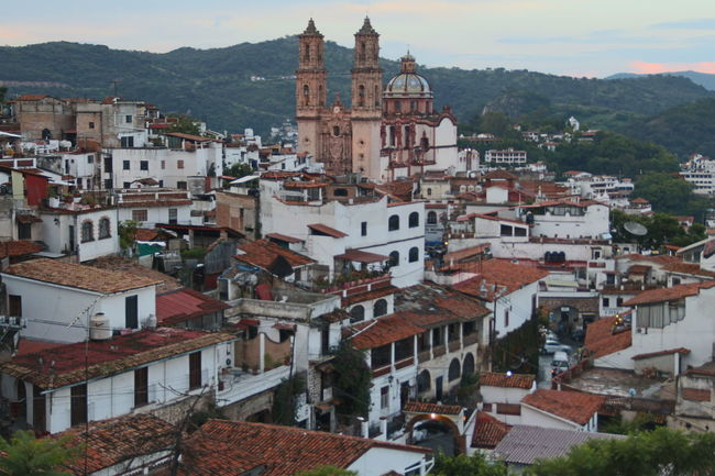 Architecture Building Exterior Cityscape Holiday Mountain Old Town Taxco Guerrero México Colonial Pueblo Mágico Town TOWNSCAPE Travel Destinations