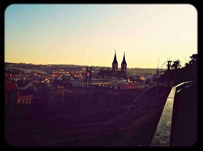 Silhouette Prague