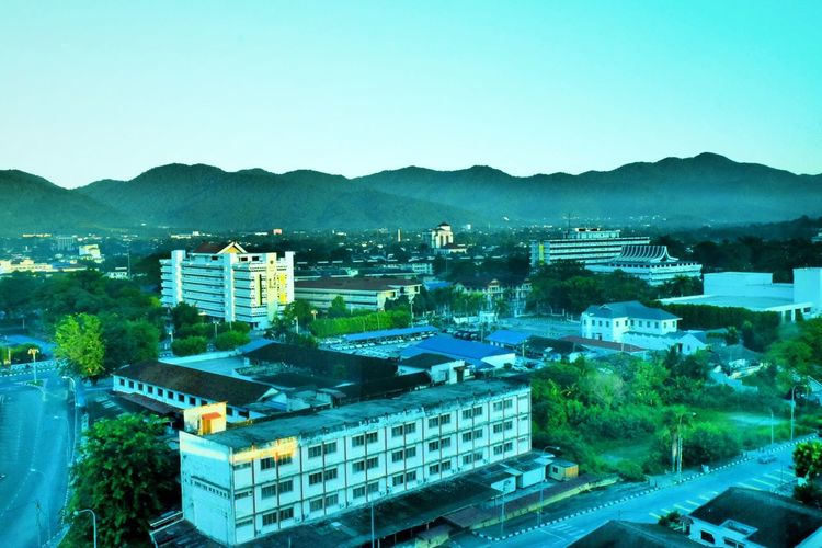 View From A Hotel Window Ipoh Morning Sunrise Throwback