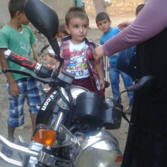 Motorsiklet Aşkı Bebeğim  Balım annesinin bitanesi