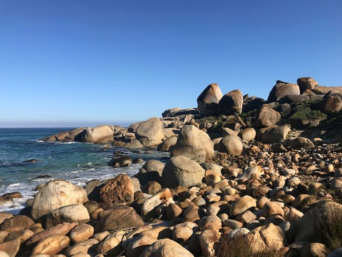 Rocks Cape Town Rocks Rocks And Water Sky Sea Water Rock Clear Sky Land Solid Scenics - Nature Beach Blue Day