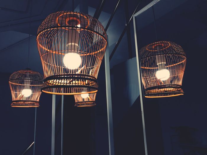 EyeEm Selects Lighting Equipment Illuminated Electricity  Low Angle View Hanging No People Indoors  Night Light Bulb Technology Close-up The Art Of Street Photography