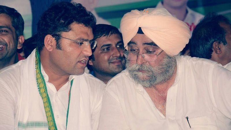 HPCC President Dr. Ashok Tanwar & my Uncle S. JAIPAL Singh LALI (Ratia) Rally!!! Rally13/9/2015 Rally Day