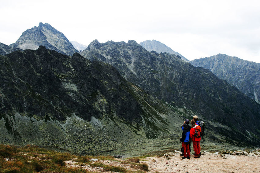 Dolina Hińczowa Hiking Tatra Mountains Tatry Trekking Admiring The View Adventure Beauty In Nature Family Time High Tatras Hiker Hiking Mountain Mountain Range Nature Nature Lovers Rear View Rocky Mountains Scenics Togetherness Tourism The Week On EyeEm An Eye For Travel Go Higher Summer Exploratorium