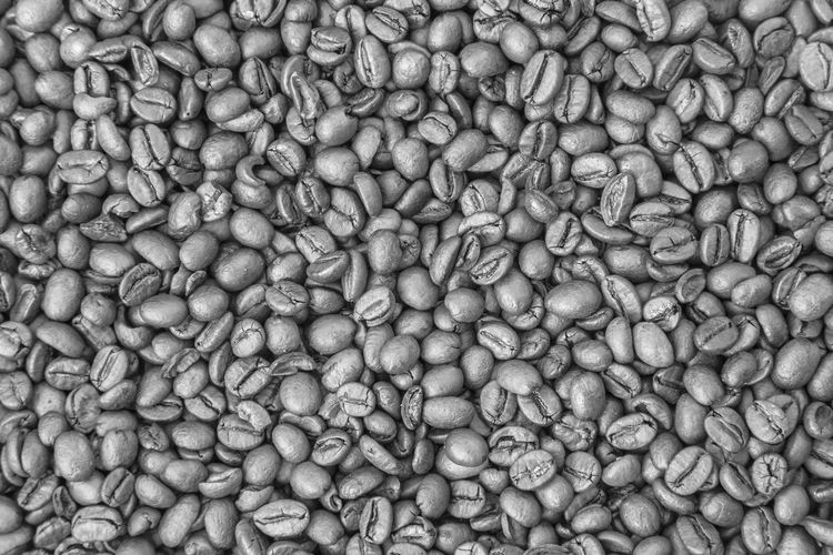 Beans Coffee Beans Roasted Beans Of Coffee Black And White Coffee Beans Close-up Coffee Coffee Beans Close Up Coffee Beans Poster Coffee Beans, Collection Food And Drink Full Frame No People Roasted Coffee Bean Still Life